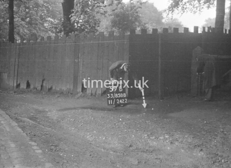 SJ858859B1, Ordnance Survey Revision Point photograph in Greater Manchester