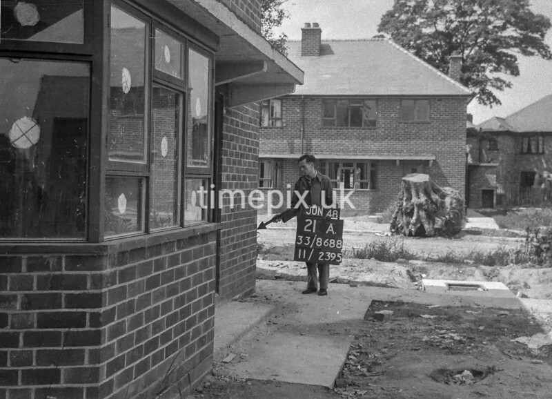 SJ868821A, Ordnance Survey Revision Point photograph in Greater Manchester