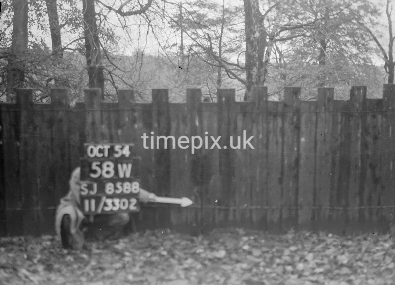 SJ858858W, Ordnance Survey Revision Point photograph in Greater Manchester