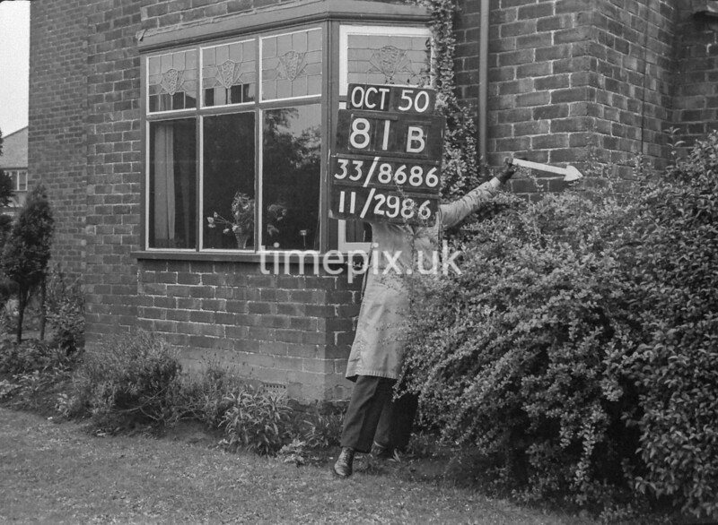 SJ868681B, Ordnance Survey Revision Point photograph in Greater Manchester