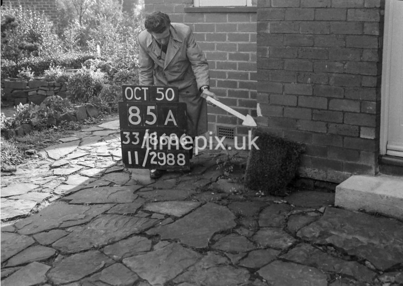 SJ868685A, Ordnance Survey Revision Point photograph in Greater Manchester