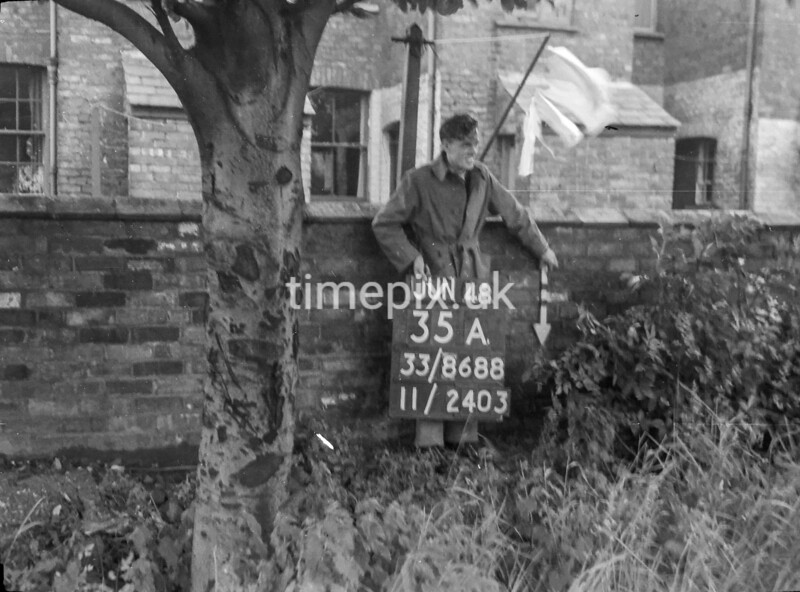 SJ868835A, Ordnance Survey Revision Point photograph in Greater Manchester