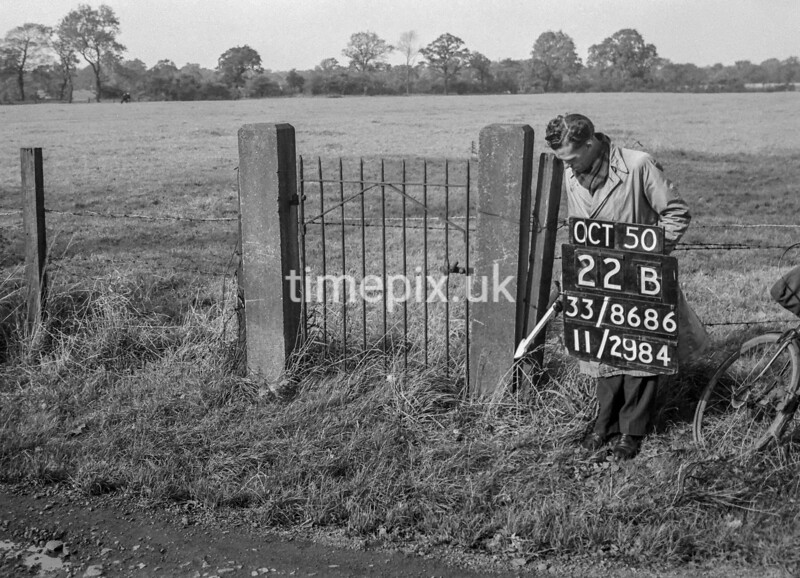 SJ868622B, Ordnance Survey Revision Point photograph in Greater Manchester