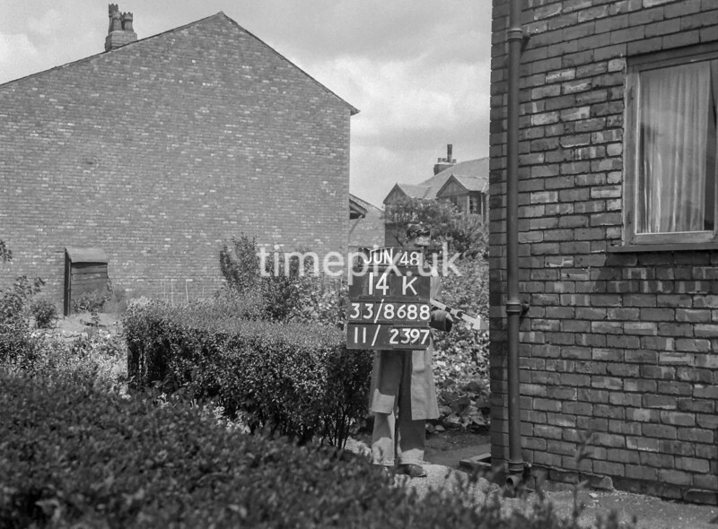 SJ868814K, Ordnance Survey Revision Point photograph in Greater Manchester