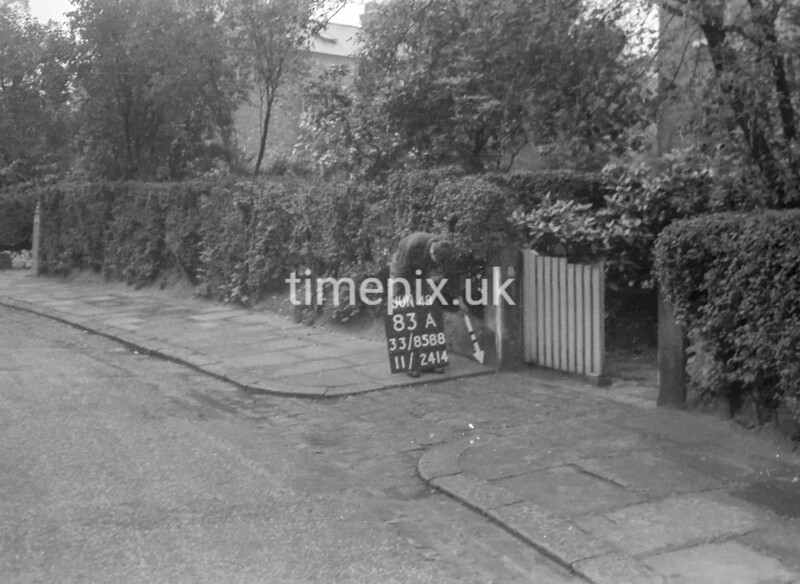 SJ858883A, Ordnance Survey Revision Point photograph in Greater Manchester