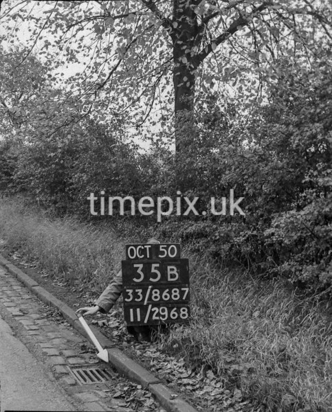 SJ868735B, Ordnance Survey Revision Point photograph in Greater Manchester