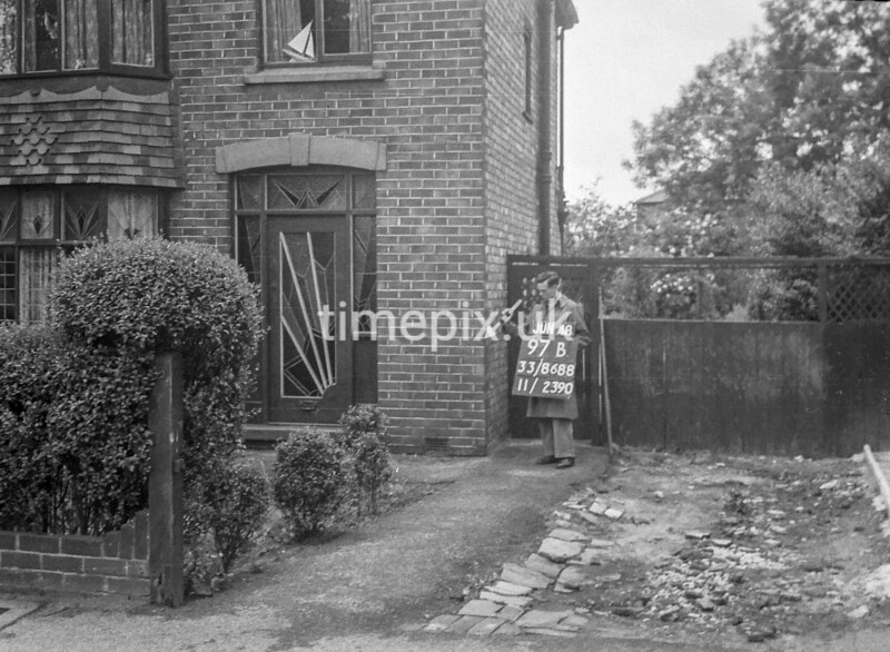 SJ868897B1, Ordnance Survey Revision Point photograph in Greater Manchester