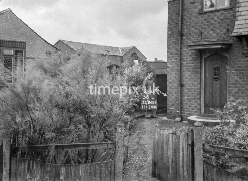 SJ868856L, Ordnance Survey Revision Point photograph in Greater Manchester