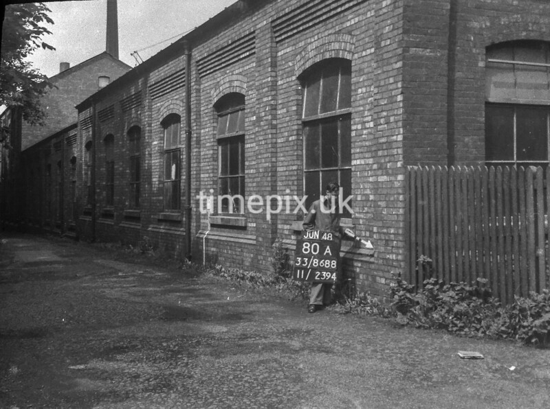 SJ868880A3, Ordnance Survey Revision Point photograph in Greater Manchester