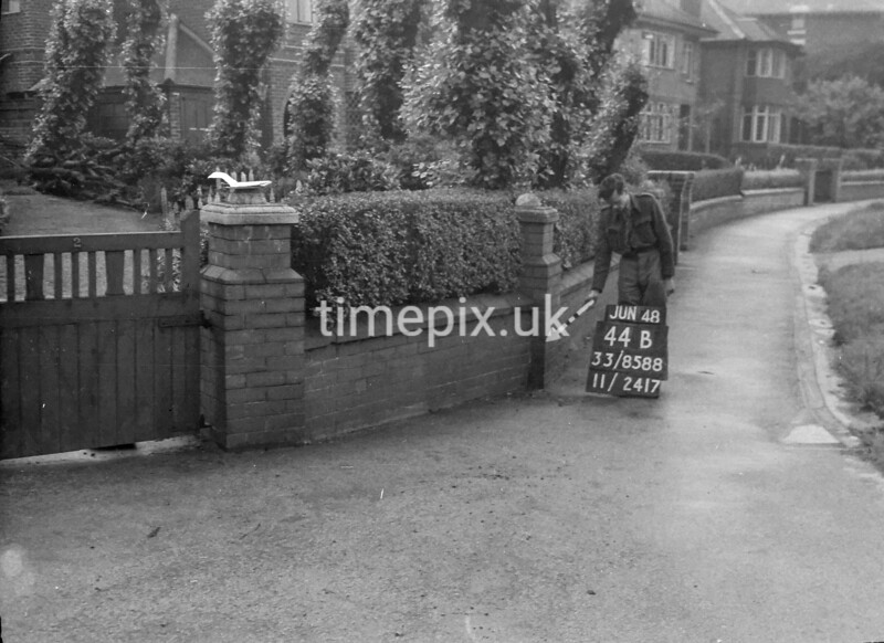 SJ858844B, Ordnance Survey Revision Point photograph in Greater Manchester