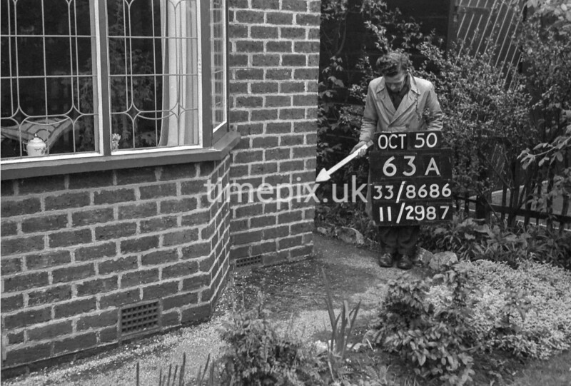 SJ868663A, Ordnance Survey Revision Point photograph in Greater Manchester