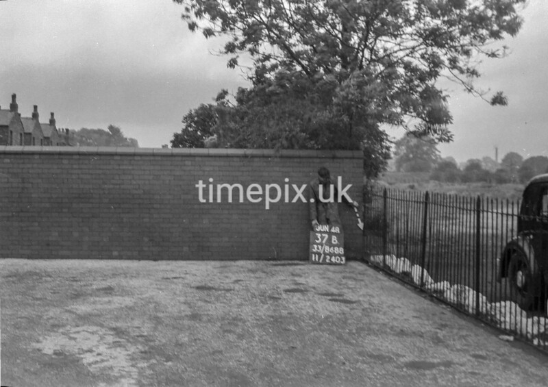 SJ868837B, Ordnance Survey Revision Point photograph in Greater Manchester