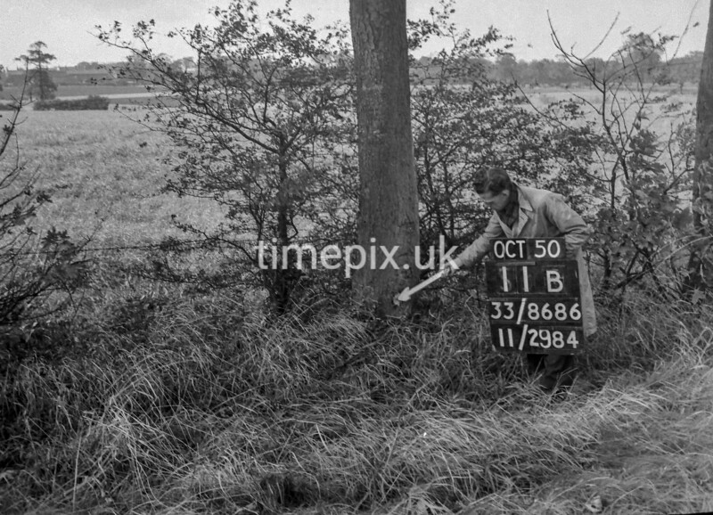 SJ868611B, Ordnance Survey Revision Point photograph in Greater Manchester