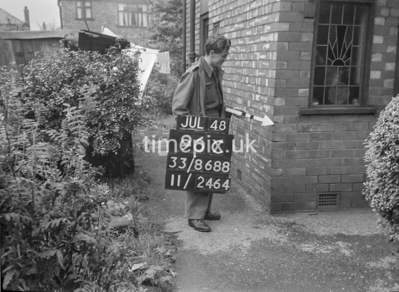 SJ868896C2, Ordnance Survey Revision Point photograph in Greater Manchester