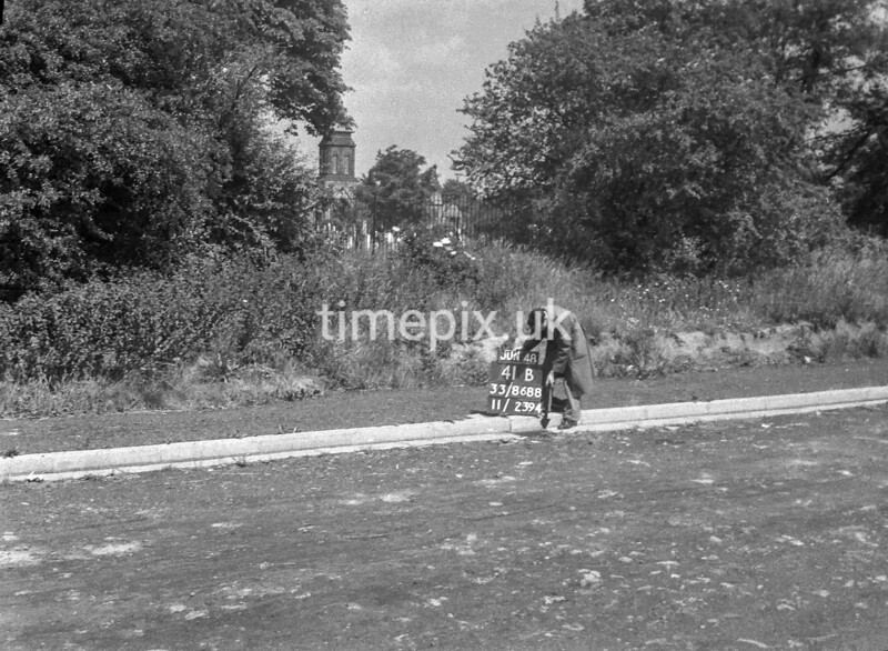 SJ868841B, Ordnance Survey Revision Point photograph in Greater Manchester