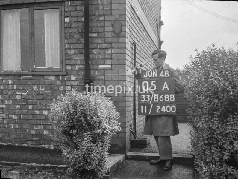 SJ868805A, Ordnance Survey Revision Point photograph in Greater Manchester