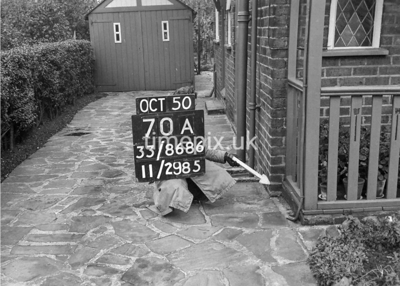 SJ868670A, Ordnance Survey Revision Point photograph in Greater Manchester