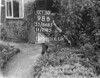 SJ868598B, Ordnance Survey Revision Point photograph in Greater Manchester