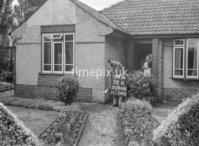 SJ868856K, Ordnance Survey Revision Point photograph in Greater Manchester