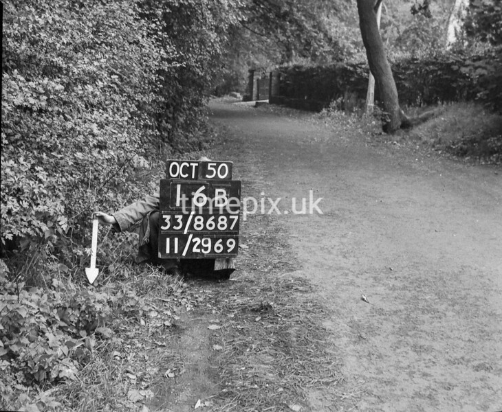 SJ868716B2, Ordnance Survey Revision Point photograph in Greater Manchester
