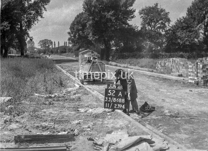 SJ868852A, Ordnance Survey Revision Point photograph in Greater Manchester