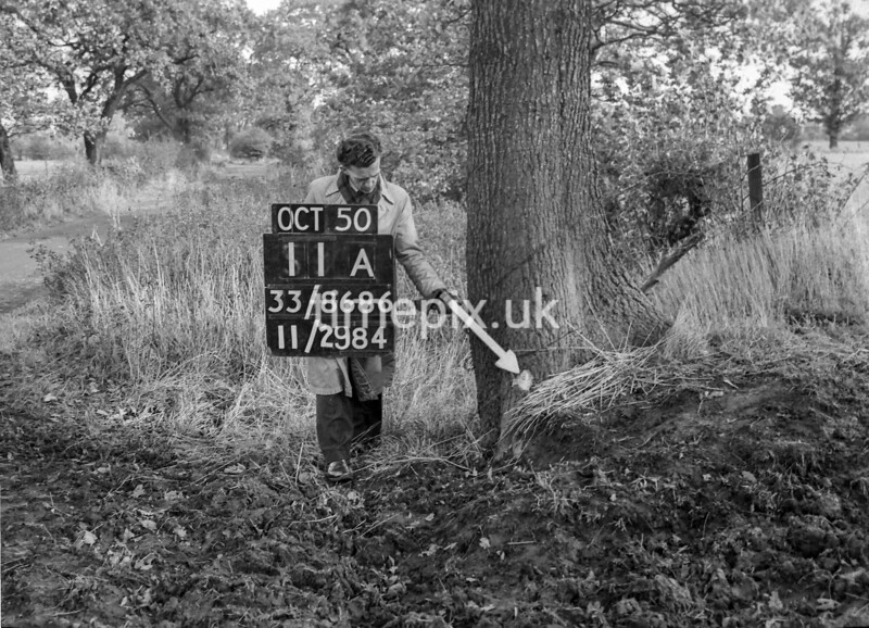 SJ868611A, Ordnance Survey Revision Point photograph in Greater Manchester
