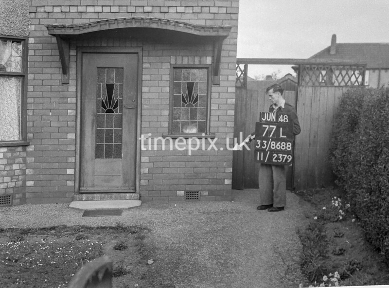 SJ868877L, Ordnance Survey Revision Point photograph in Greater Manchester