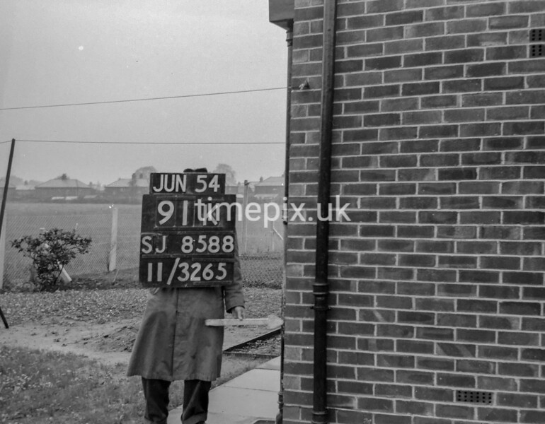 SJ858891K, Ordnance Survey Revision Point photograph in Greater Manchester