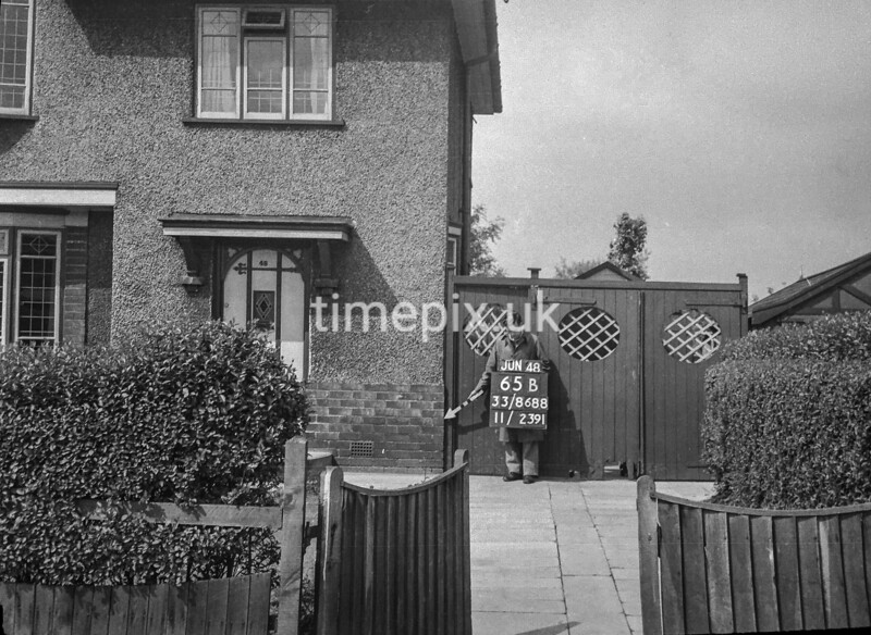 SJ868865B, Ordnance Survey Revision Point photograph in Greater Manchester