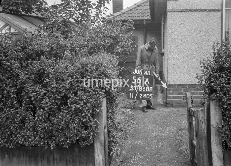 SJ868856A, Ordnance Survey Revision Point photograph in Greater Manchester