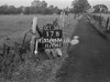 SJ868617B, Ordnance Survey Revision Point photograph in Greater Manchester