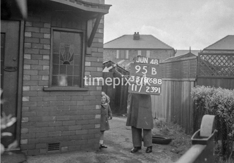 SJ868895B, Ordnance Survey Revision Point photograph in Greater Manchester