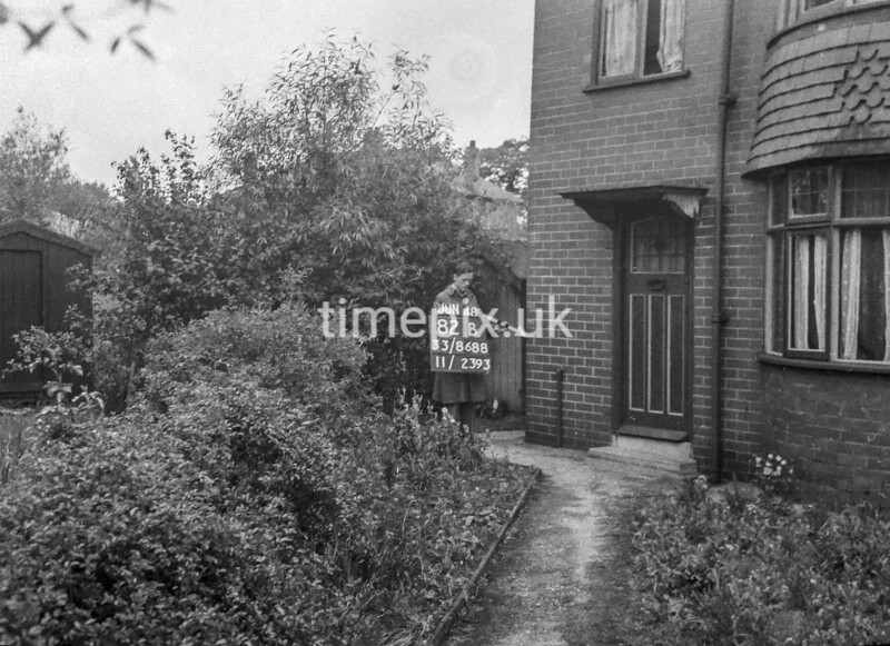 SJ868882B1, Ordnance Survey Revision Point photograph in Greater Manchester