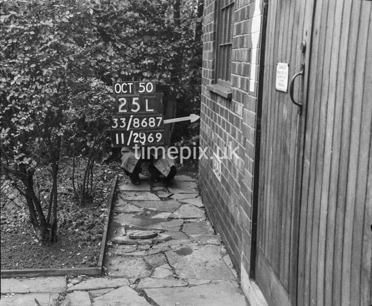 SJ868725L, Ordnance Survey Revision Point photograph in Greater Manchester