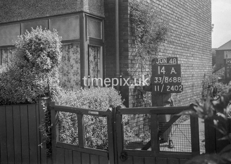 SJ868814A, Ordnance Survey Revision Point photograph in Greater Manchester