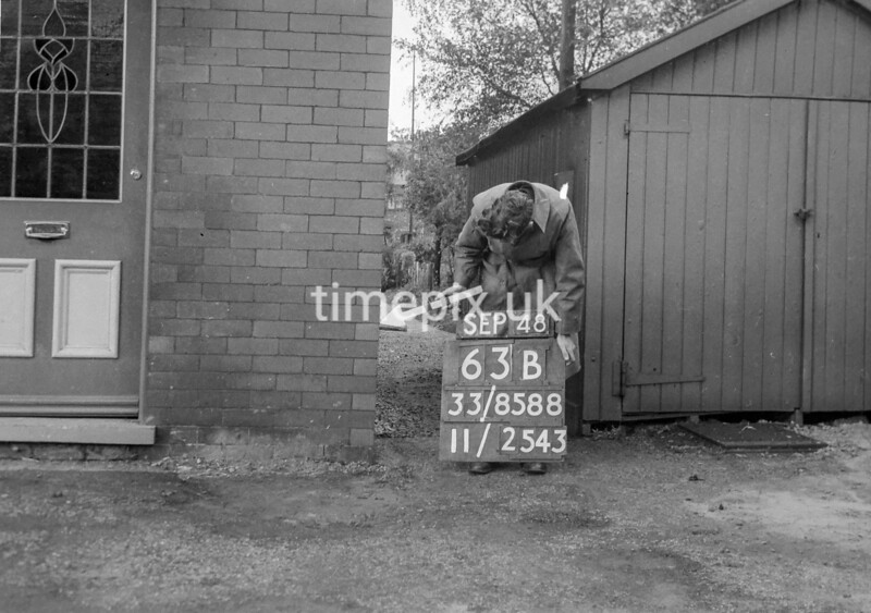 SJ858863B2, Ordnance Survey Revision Point photograph in Greater Manchester