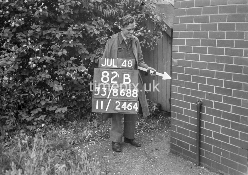 SJ868882B2, Ordnance Survey Revision Point photograph in Greater Manchester