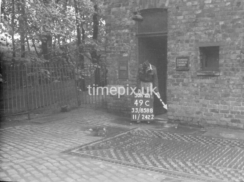 SJ858849C, Ordnance Survey Revision Point photograph in Greater Manchester