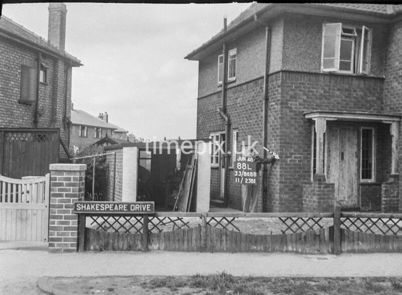 SJ868888L, Ordnance Survey Revision Point photograph in Greater Manchester