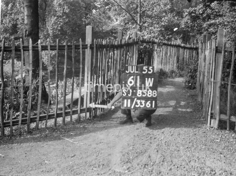 SJ858861W, Ordnance Survey Revision Point photograph in Greater Manchester