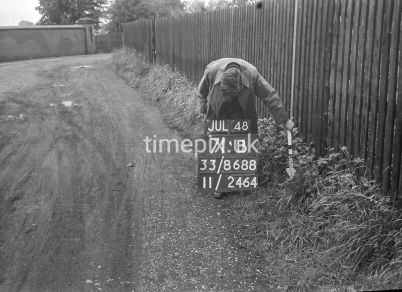 SJ868871B2, Ordnance Survey Revision Point photograph in Greater Manchester