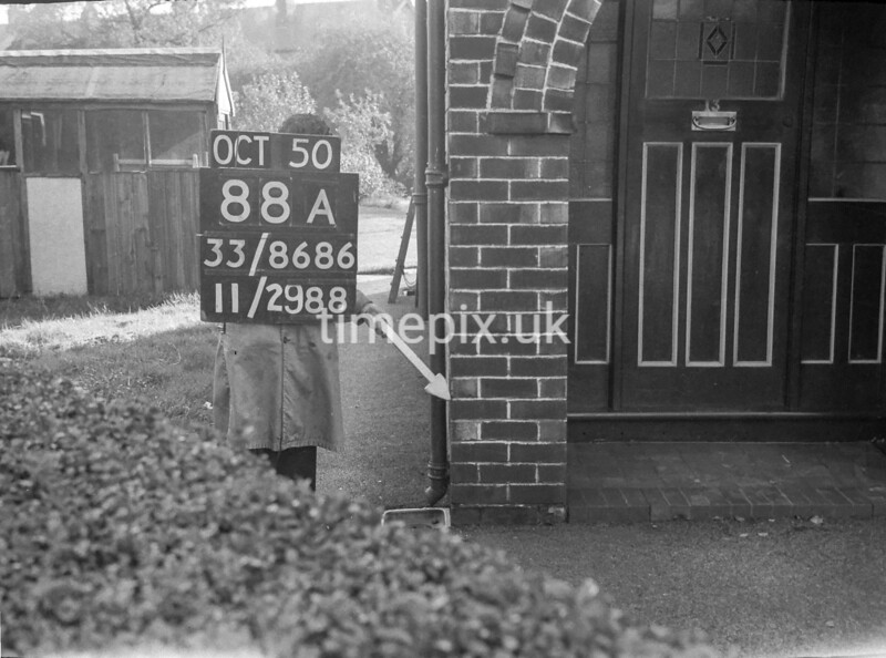 SJ868688A, Ordnance Survey Revision Point photograph in Greater Manchester