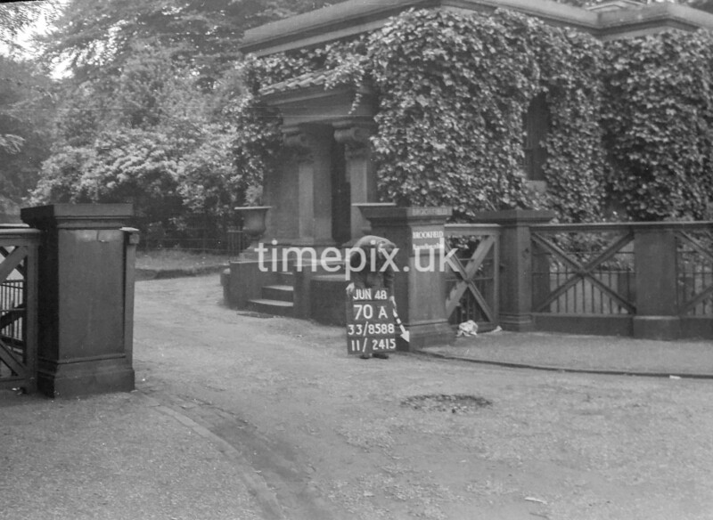 SJ858870A, Ordnance Survey Revision Point photograph in Greater Manchester