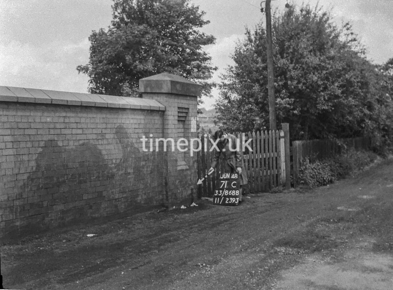 SJ868871C, Ordnance Survey Revision Point photograph in Greater Manchester