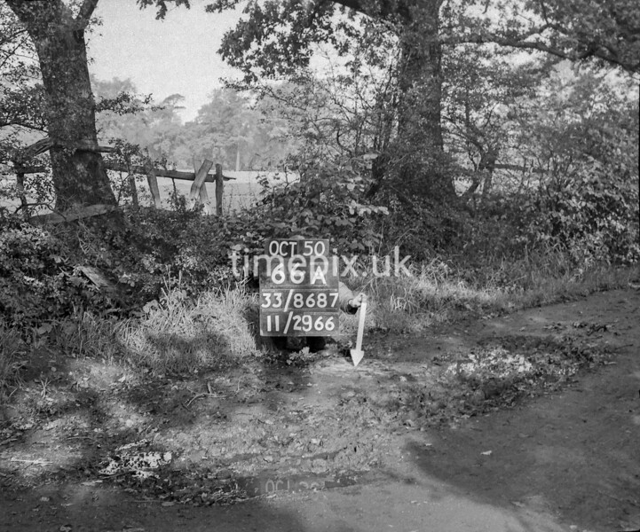 SJ868766A, Ordnance Survey Revision Point photograph in Greater Manchester