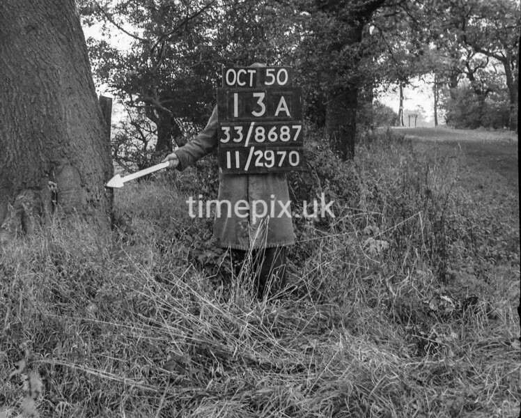 SJ868713A, Ordnance Survey Revision Point photograph in Greater Manchester