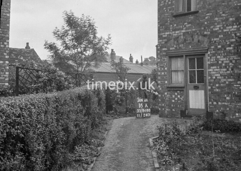 SJ868816A, Ordnance Survey Revision Point photograph in Greater Manchester