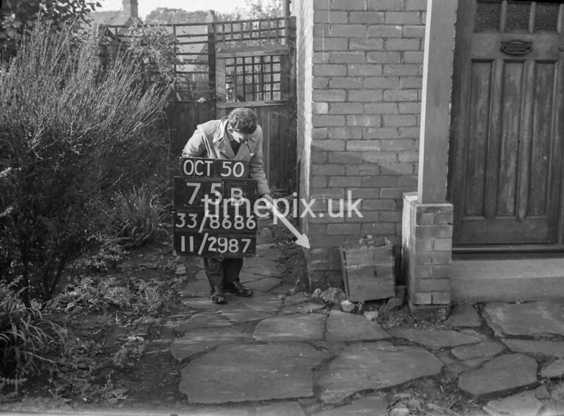 SJ868675B, Ordnance Survey Revision Point photograph in Greater Manchester