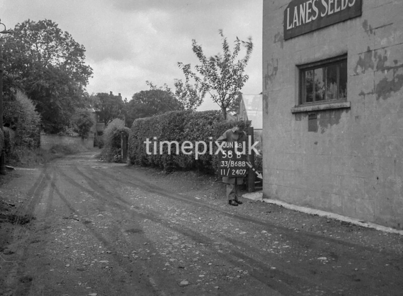 SJ868858B, Ordnance Survey Revision Point photograph in Greater Manchester