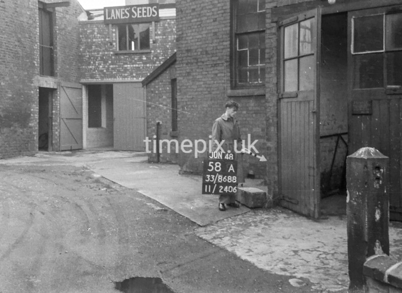 SJ868858A, Ordnance Survey Revision Point photograph in Greater Manchester